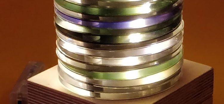 Wir bauen Lampen aus alten CDs