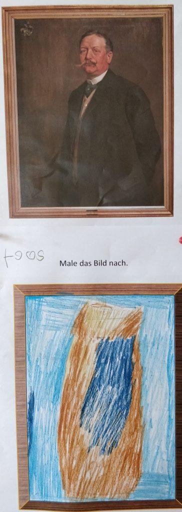 Der Maler Fritz von Wille
